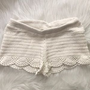 tally weijl Shorts - crochet shorts